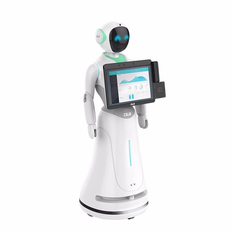 爱丽丝迎宾机器人