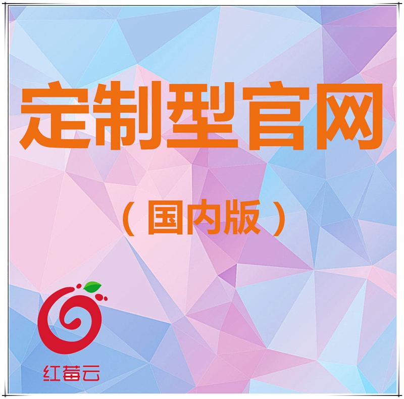 广州红莓云企业集团展示型官网定制