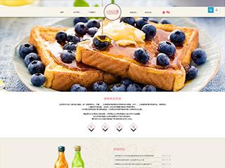 食品行业291模板网站