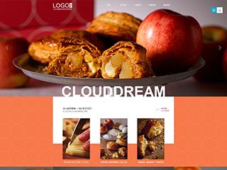 食品行业307模板网站