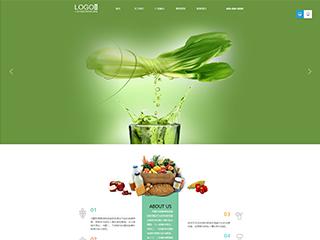 食品行业315模板网站