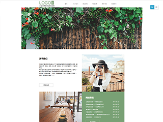 旅游行业a51模板网站
