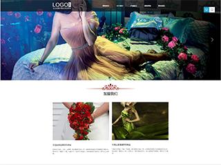 服饰行业306模板网站