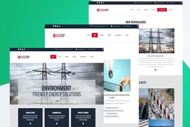 高端定制 电力行业网站建设 快建美站