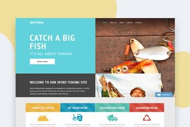 高端定制 海鲜水产行业网站建设 快建美站