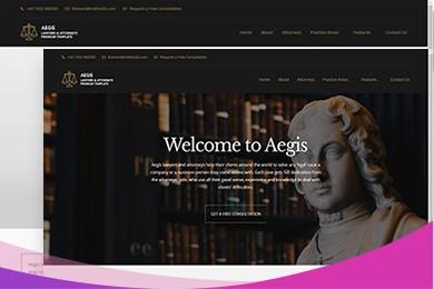 高端定制 法律行业网站建设 快建美站
